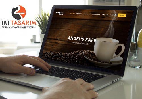 Angels Kafe Websitesi