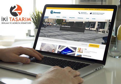 Hassanlar Yapı Websitesi