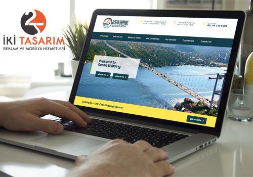 Ocean Denizcilik Websitesi