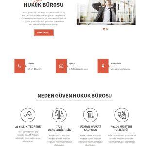 Avukat Web Sitesi 1