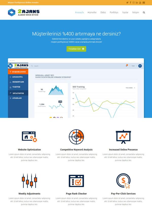 Şirket Web Sitesi 1
