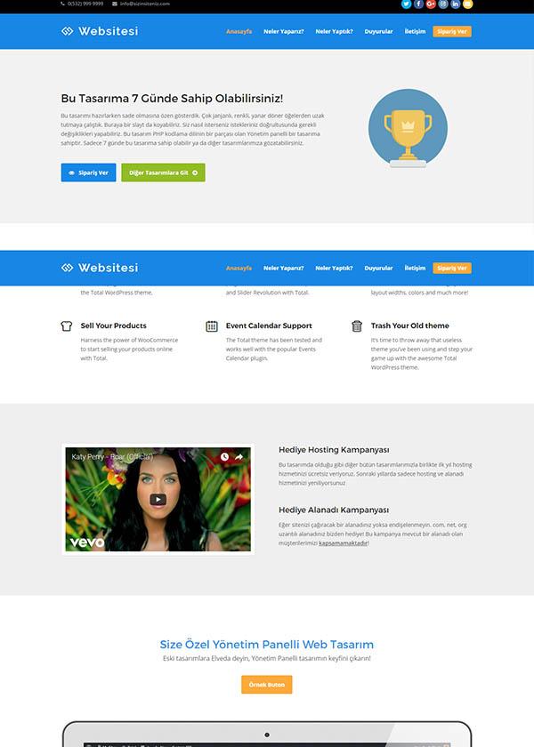 Ajans Web Sitesi 2