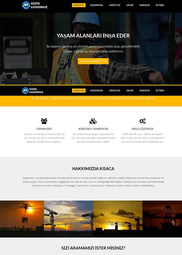 Şirket Web Sitesi 2