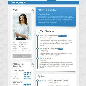 Kişisel CV Web Site