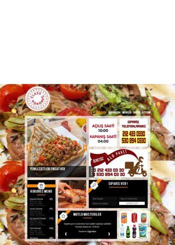 Kokoreç Cafe Web Sitesi