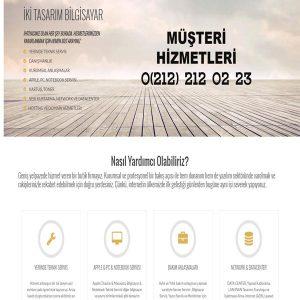 Bilgisayar Servisi Web Sitesi