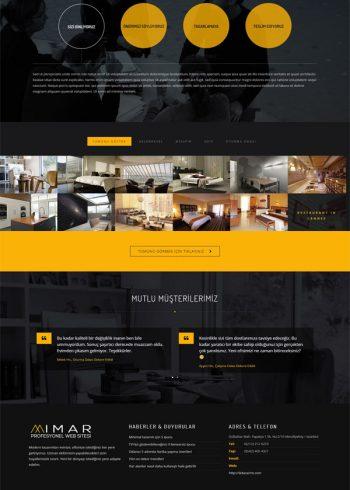 Mimar Web Sitesi (Dark) 1