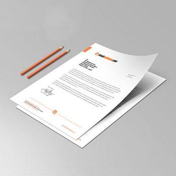 Antetli Kağıt (A4)