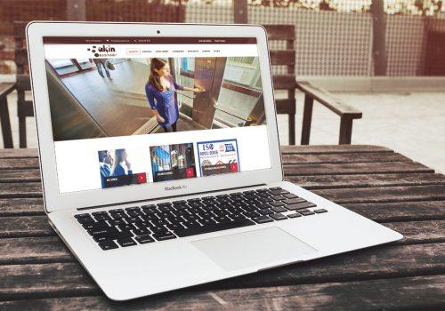 Alçin Asansör Websitesi