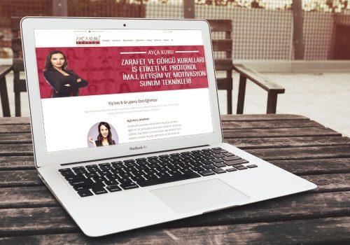 Ayça Kuru Kurumsal Websitesi