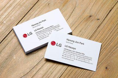 LG Hausys Kartvizit