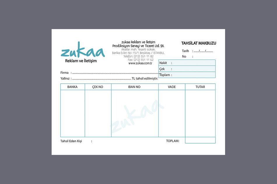 Zuka-Tahsilat Makbuzu
