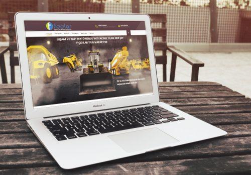 Fıçıcılar Yapı Marketi Websitesi