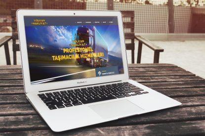 Volkan Nakliyat Websitesi